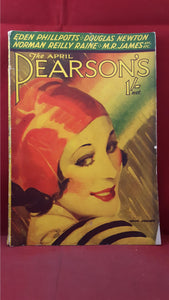Pearson's - April 1932,  M R James