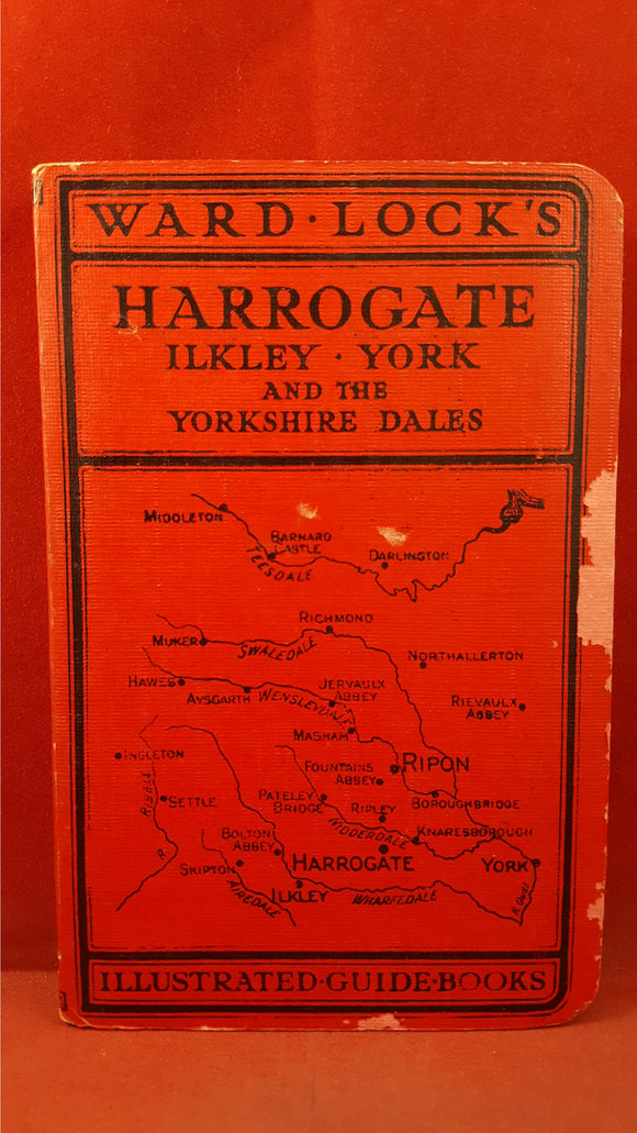 Guide to Harrogate And District, Ward Lock & Co, With Maps, Fifteenth Edition