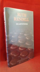 Ruth Rendell - Heartstones, Harper & Row, 1987, First Edition, Signed, Inscribed
