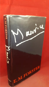E M Forster - Maurice, Edward Arnold, 1971, First Edition