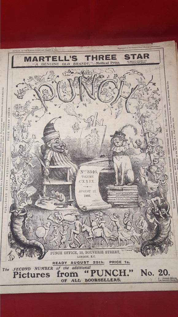 Punch Magazine Number 3346 and 3347, August 23 & 30 1905