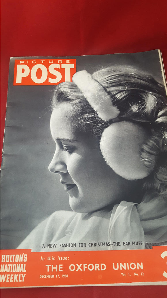 Picture Post Volume 1 Number 12, December 17 1938