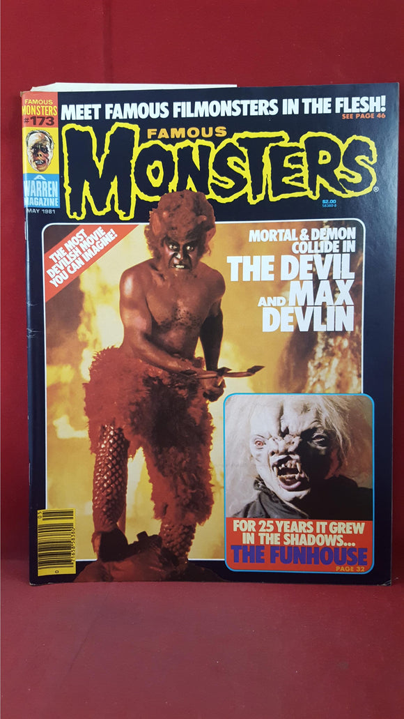 James Warren - Famous Monsters Issue Number 173, May 1981