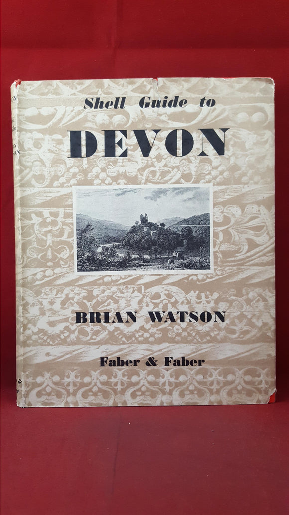 Brian Watson - Shell Guide to Devon, Faber & Faber, 1955, New Edition