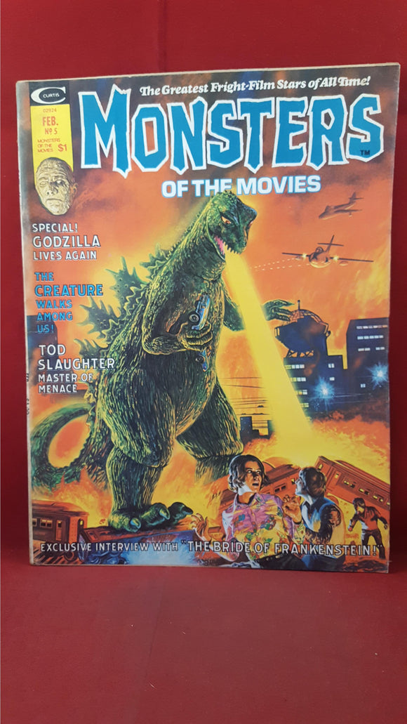 Monsters Of The Movies Volume 1 Number 5 February 1975