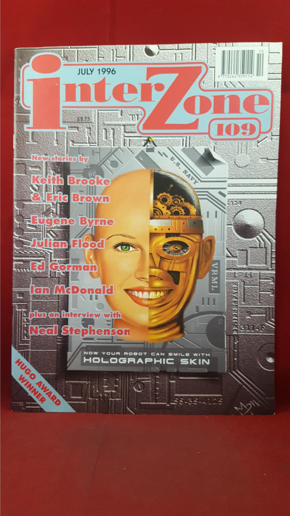 David Pringle - Interzone Science Fiction & Fantasy, Number 109, July 1996