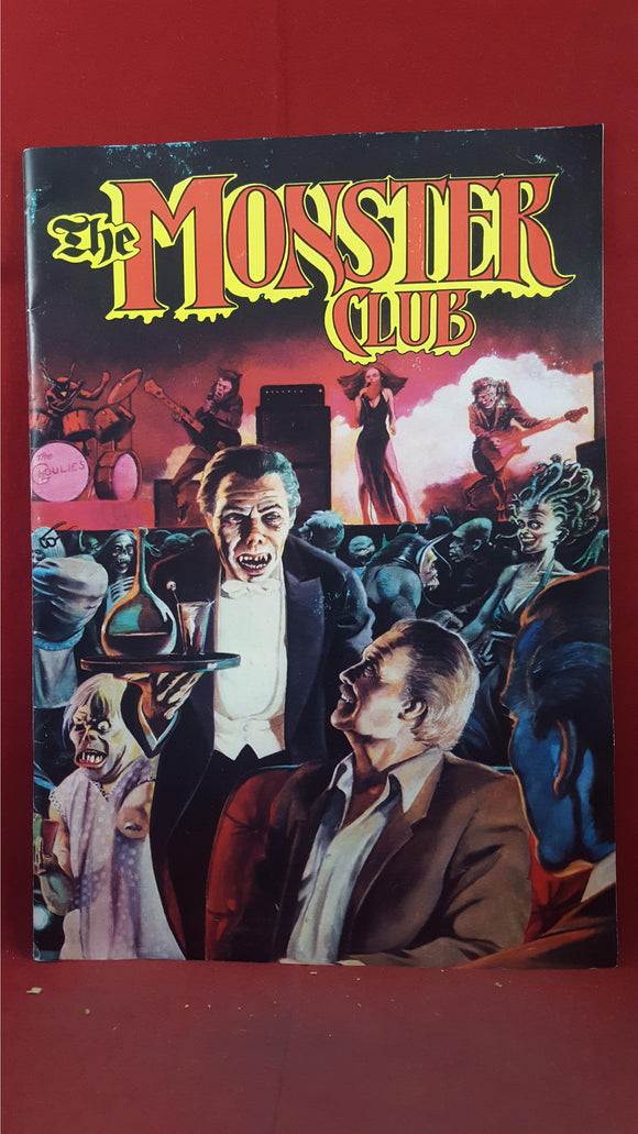 Dez Skinn -The Monster Club, 1980, Signature x3 including Vincent Price, John Carradine