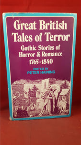 Peter Haining - Great British Tales of Terror, Volume 1, Gollancz, 1972, First Edition