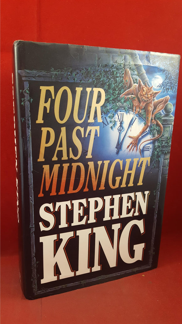 Stephen King - Four Past Midnight, Hodder & Stoughton, 1990, First GB Edition