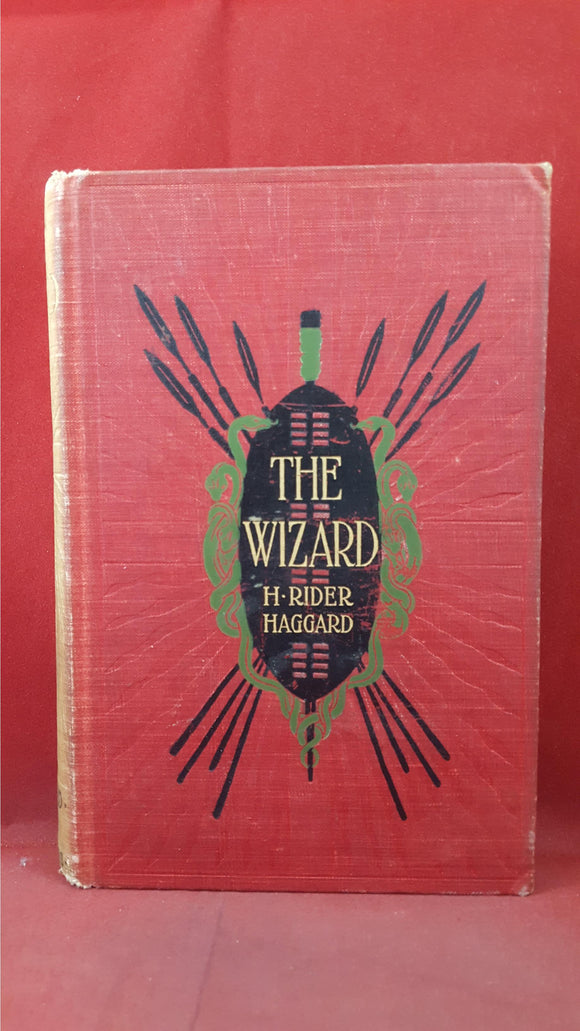H Rider Haggard - The Wizard, Longmans, Green, 1896, First US Edition