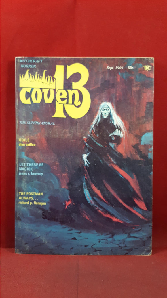 Arthur H Landis - Coven 13 Volume 1 Number 1 September 1969