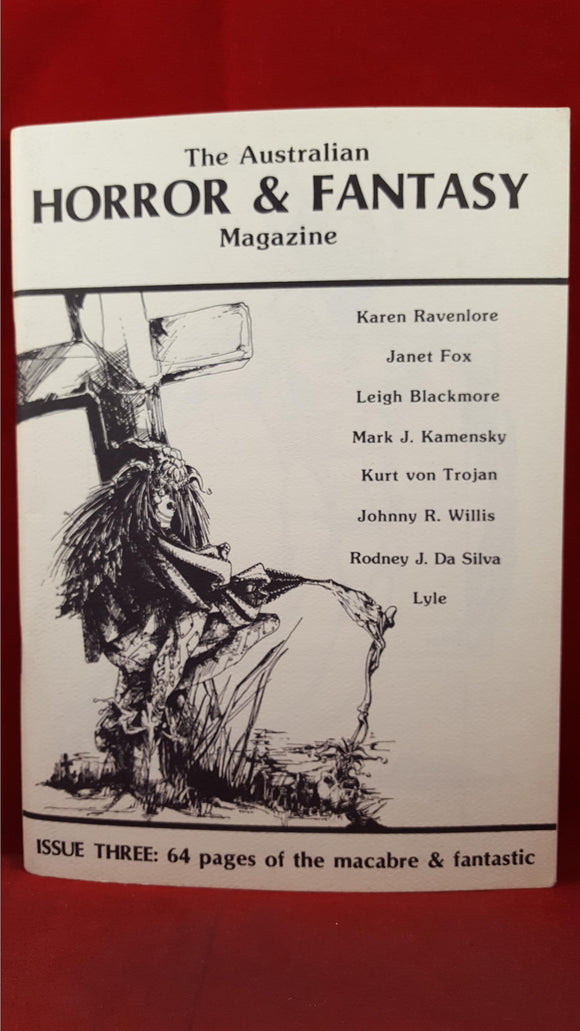 The Australian Horror & Fantasy Magazine, Issue 3 Winter 1984