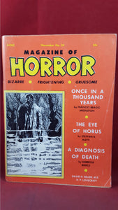 Magazine of Horror, Volume 4, Number 6  November 1968, David H Keller