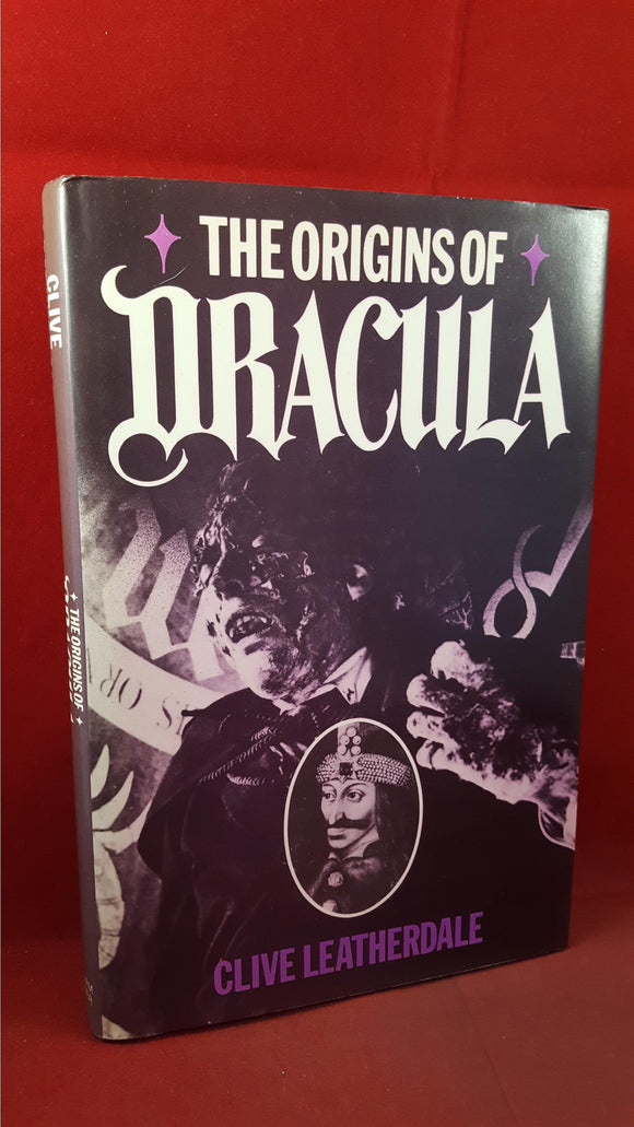 Clive Leatherdale - The Origins Of Dracula, William Kimber, 1987, 1st Edition, Signed