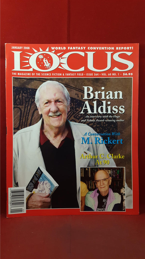 Charles N Brown - Locus  January 2008 Issue 564 Volume 60 Number 1