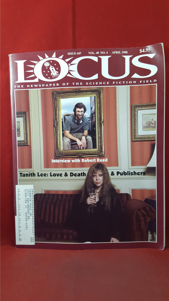 Charles N Brown - Locus  April 1998 Issue 447 Volume 40 Number 4