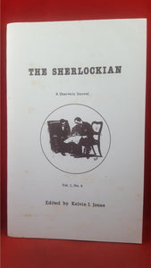 Edited by Kelvin I Jones - The Sherlockian Volume 1 Number 4, Magico Magazine, 1988
