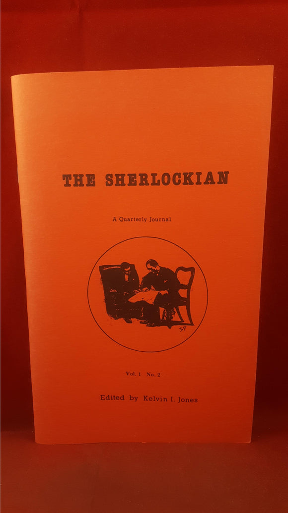 Kelvin I Jones - The Sherlockian Volume 1 Number 2, Magico Magazine, 1987