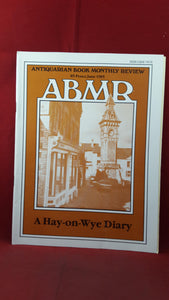 Antiquarian Book Monthly Review Issue 134, June 1985