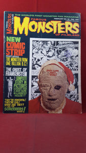 Famous Monsters Of Filmland Number 48 February 1968