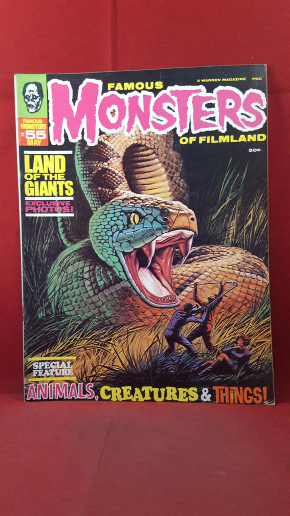 Famous Monsters Of Filmland Number 55 May 1969