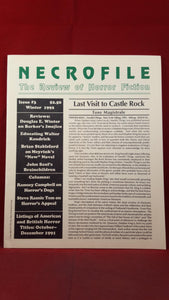 Necrofile - The Review of Horror Fiction, Issue 3 Winter 1992, Necronomicon Press