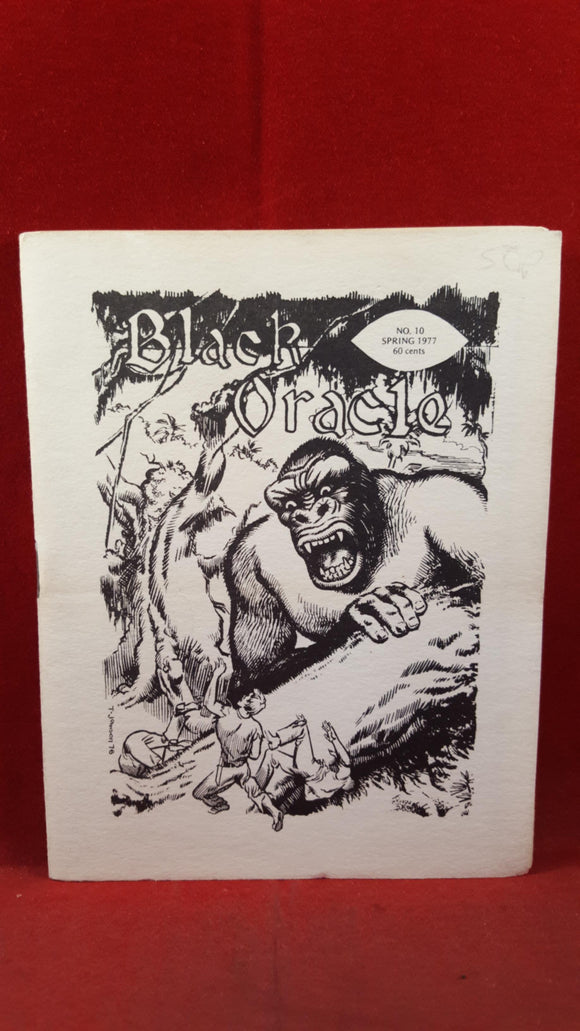 Publisher George Stover - Black Oracle Number 10 Spring 1977