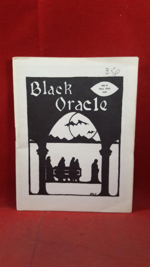 George Stover - Black Oracle Number 9 Fall 1975