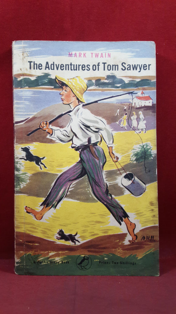 Mark Twain - The Adventures of Tom Sawyer, Penguin Books, 1954