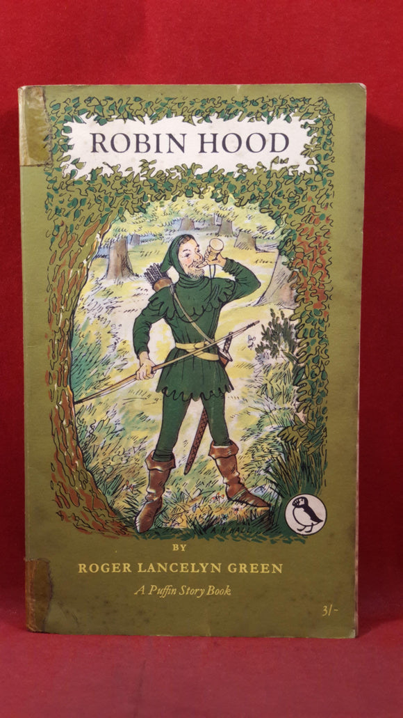 Roger Lancelyn Green - Robin Hood, Penguin Books, 1956