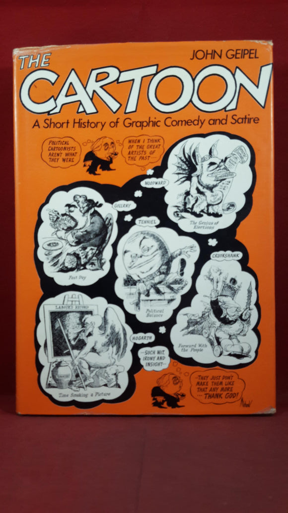 John Geipel - The Cartoon, David & Charles, 1972, First Edition