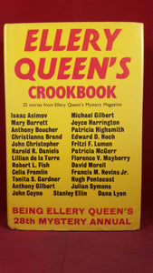 Edited by Ellery Queen's 28th Mystery Annual - Crookbook, Book Club Associates, 1975