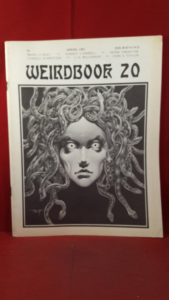 W Paul Ganley - Weirdbook 20, 1985