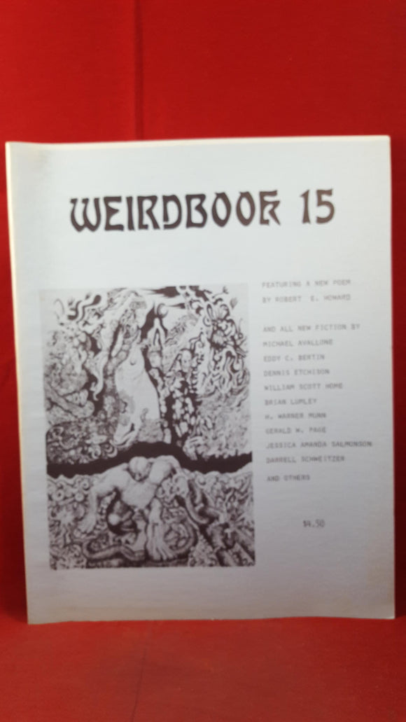 W Paul Ganley - Weirdbook 15, 1981, H Warner Munn