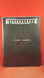 Horrorstruck - The World Of Dark Fantasy, No. 3, Sept/Oct 1988, Final Issue, Letter