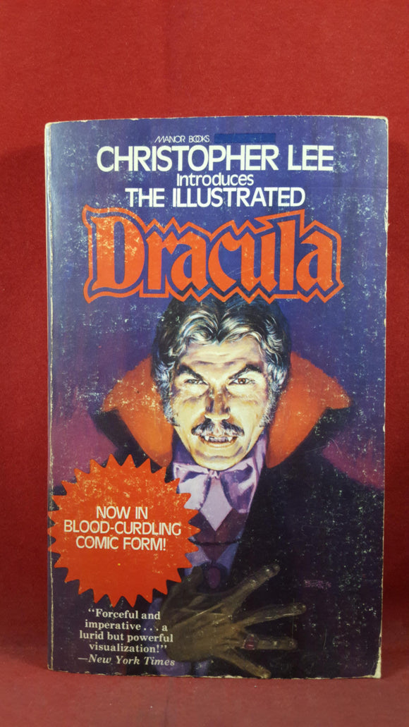 Christopher Lee - The Illustrated Dracula, Manor Books, 1975