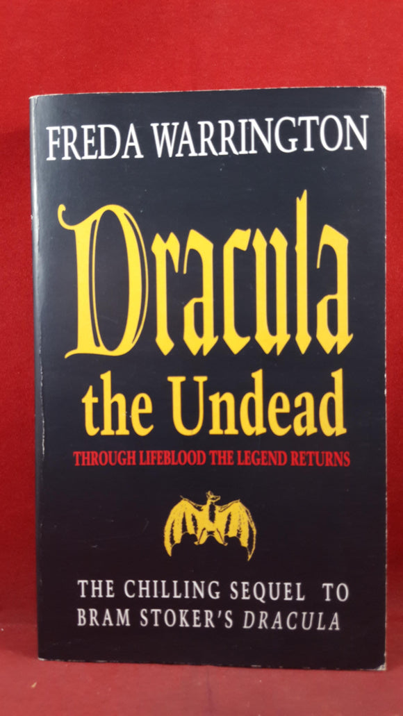 Freda Warrington - Dracula the Undead, Penguin Books, 1997, First Edition, Signed