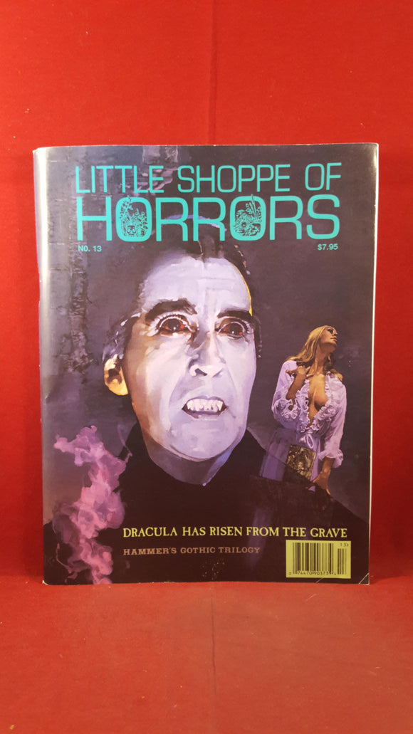 Little Shoppe Of Horrors, Number 13  1996, Hammer's Gothic Trilogy