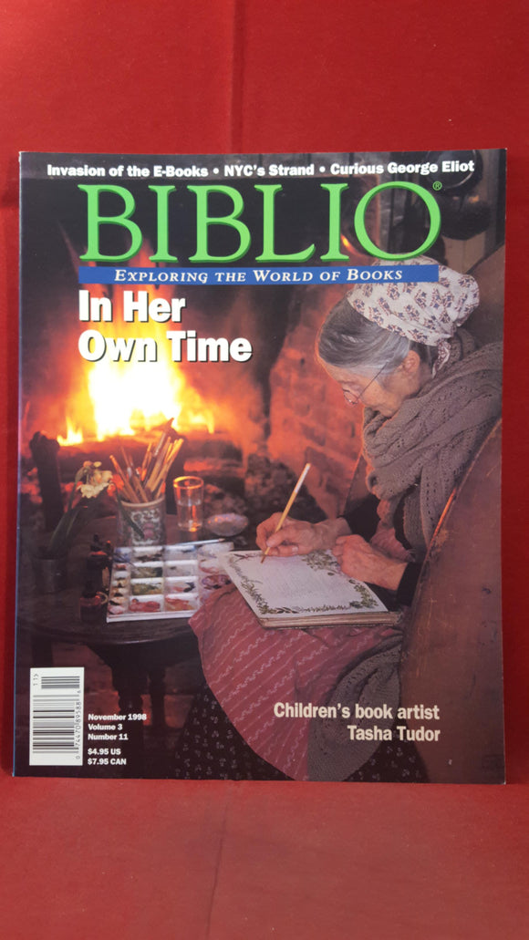 Biblio - Exploring The World of Books, 1997-98 (5 copies)
