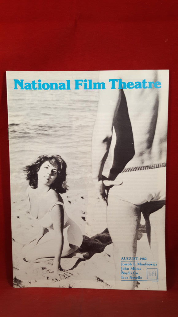 National Film Theatre 1982  (5 copies)