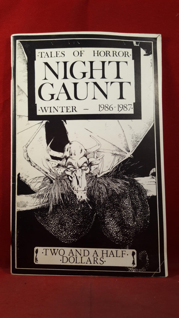 Night Gaunt Number 2, Winter 1986-1987, Tales of Horror, all Prose Jeff Kahan