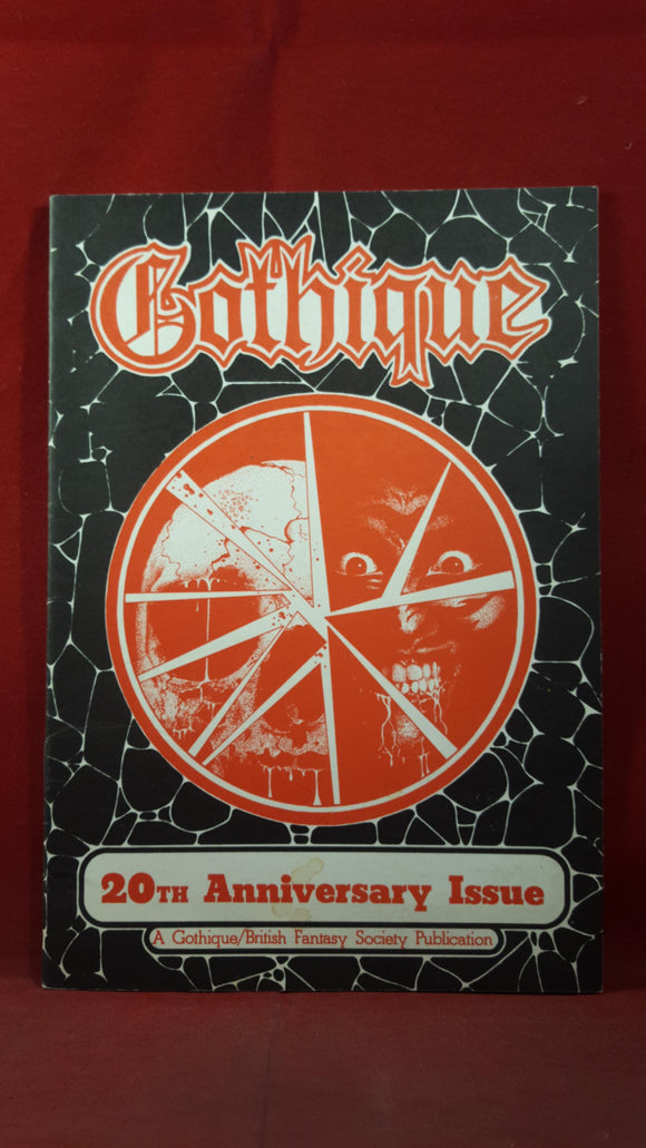 Gothique - British Fantasy Society Number 8, 1985, 20th Anniversary Issue