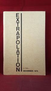 Thomas D Clareson - Extrapolation Volume 17 Number 1 December 1975