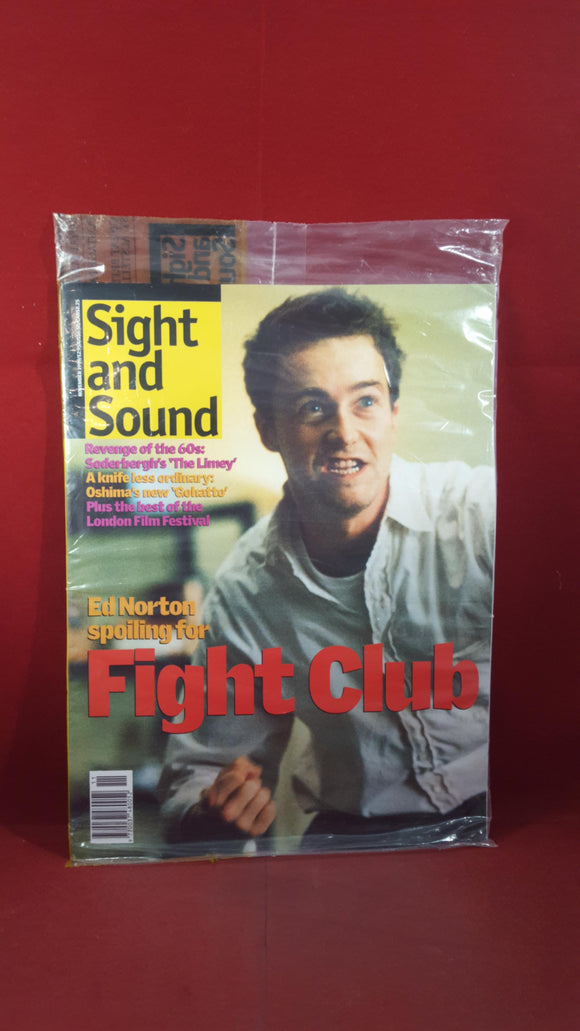 Sight and Sound November 1999, unopened with free book by Scott Frank