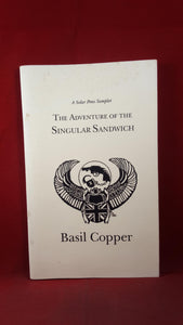 Basil Copper - The Adventure of the Singular Sandwich, 1995, Special Promotional Edition