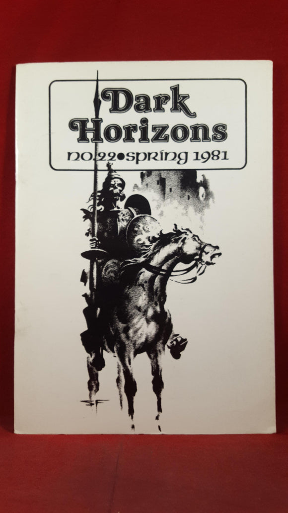 Dark Horizons Issue No 22, Spring 1981, British Fantasy Society