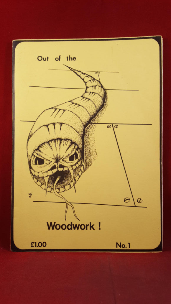 Simon G Gosden - Out of the Woodwork ! Number 1, 1986,  Signed, Limited 14/25