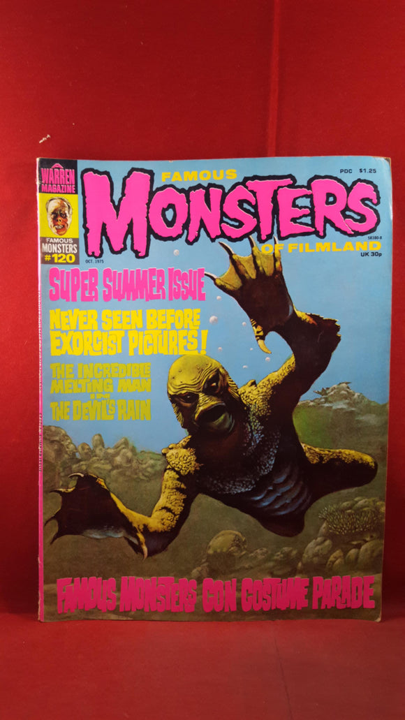 Famous Monsters Of Filmland Number 120 October 1975