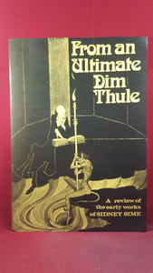 George Locke - From an Ultimate Dim Thule, Ferret Fantasy, 1973, First Edition, Limited