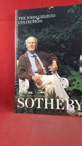The John Gielgud Collection Thursday 5 April 2001, Sotheby's
